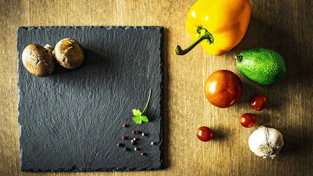 Organic Food On Table